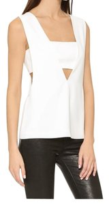 T by Alexander Wang Top white