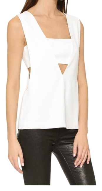 Preload https://img-static.tradesy.com/item/22679386/t-by-alexander-wang-crepe-bandeau-v-white-top-0-1-650-650.jpg