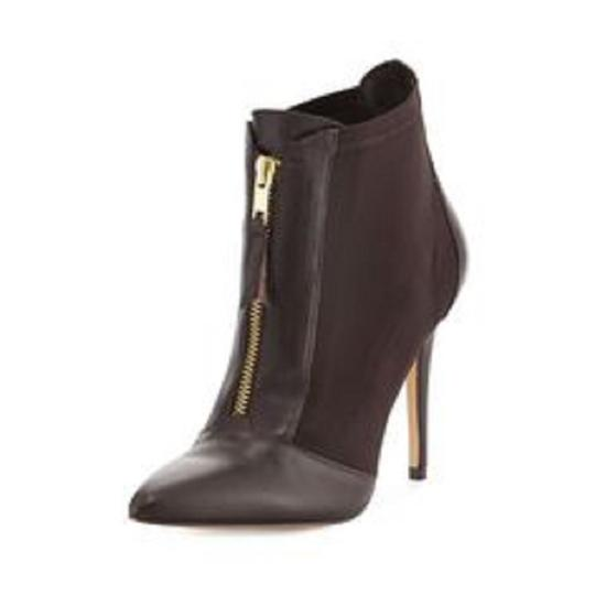 Charles by Charles David Leather Stretch Ankle Brown Boots Image 7