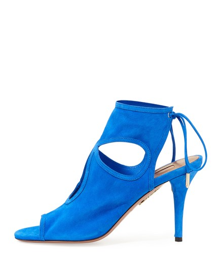 Aquazzura Blue Sandals Image 1