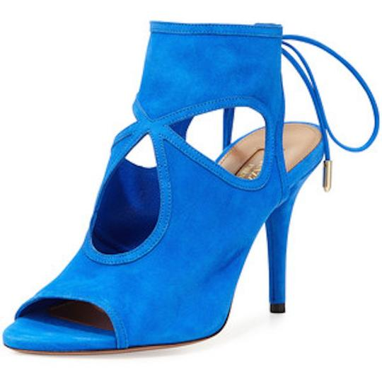 Aquazzura Blue Sandals Image 3