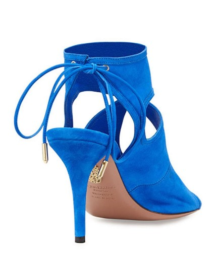 Aquazzura Blue Sandals Image 4