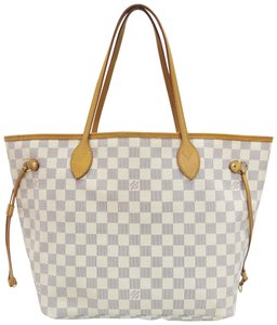 Louis Vuitton Lv Neverfull Damier Canvas Shoulder Bag