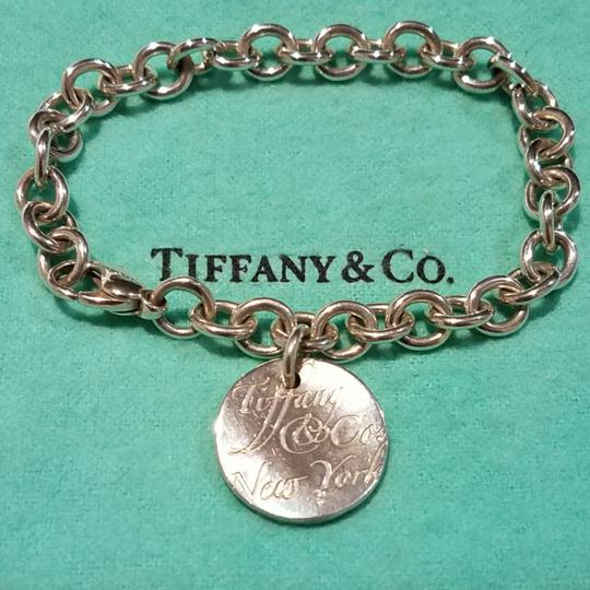 Tiffany & Co. Retired Notes round tag link bracelet Image 2