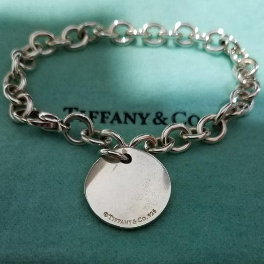 Tiffany & Co. Retired Notes round tag link bracelet Image 3