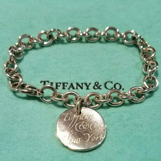 Tiffany & Co. Retired Notes round tag link bracelet Image 4