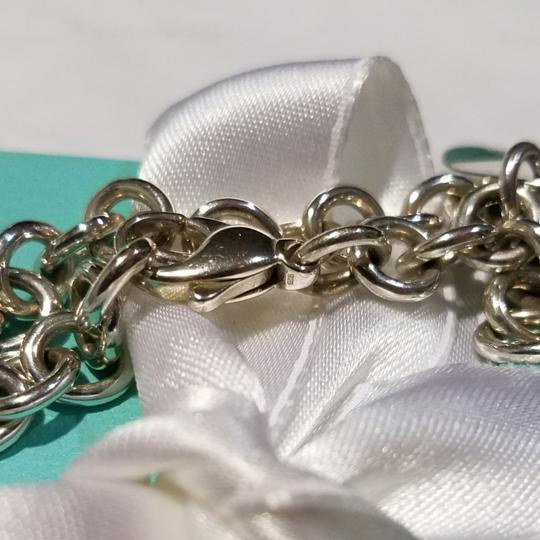 Tiffany & Co. Retired Notes round tag link bracelet Image 5