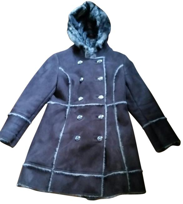 Preload https://img-static.tradesy.com/item/22680215/laundry-by-shelli-segal-chocolate-brown-double-breasted-faux-shearling-fur-coat-size-8-m-0-1-650-650.jpg