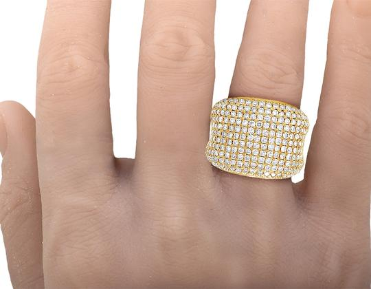 Jewelry Unlimited Men's 14K Yellow Gold Diamond Pinky Ring 3 CT 19MM Image 1