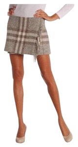 Burberry London Mini Skirt gray