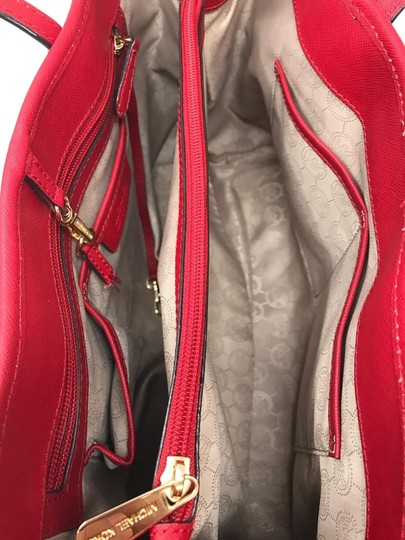 Michael Kors Discounted Tote in Red Image 3