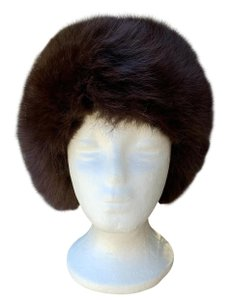 Other Plush Fox Fur Bucket Hat Made in Germany So Dr Zhivago
