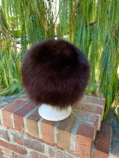 Other Plush Fox Fur Bucket Hat Made in Germany So Dr Zhivago Image 3