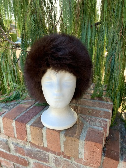 Other Plush Fox Fur Bucket Hat Made in Germany So Dr Zhivago Image 5
