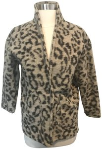 Zara Girls Cotton Blend LEOPARD PRINT Jacket