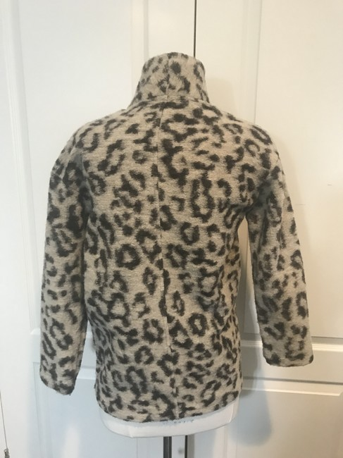 Zara Girls Cotton Blend LEOPARD PRINT Jacket Image 1