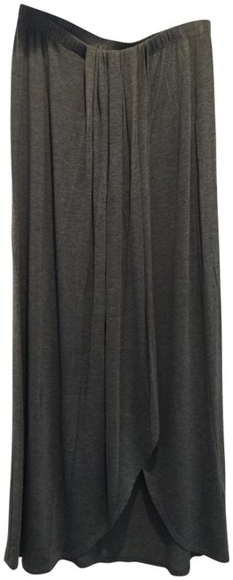 Item - Charcoal New Faux Wrap In Skirt Size 8 (M, 29, 30)