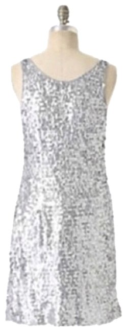 Preload https://img-static.tradesy.com/item/22680682/anthropologie-silver-gray-fully-sequined-never-worn-short-cocktail-dress-size-0-xs-0-1-650-650.jpg