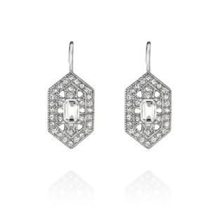 Chloe + Isabel Art Deco Drop Earrings