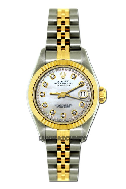 Rolex Box 26mm Ladies Datejust Gold S/S with & Appraisal Watch Rolex Box 26mm Ladies Datejust Gold S/S with & Appraisal Watch Image 1