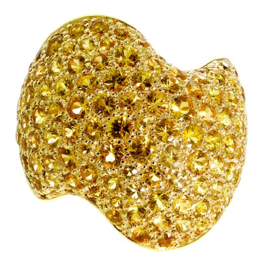 Preload https://img-static.tradesy.com/item/22680843/van-cleef-and-arpels-yellow-pave-golden-sapphire-gold-ring-0-0-540-540.jpg