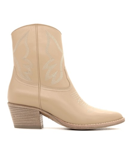 Valentino Ankle Beige Boots Image 0