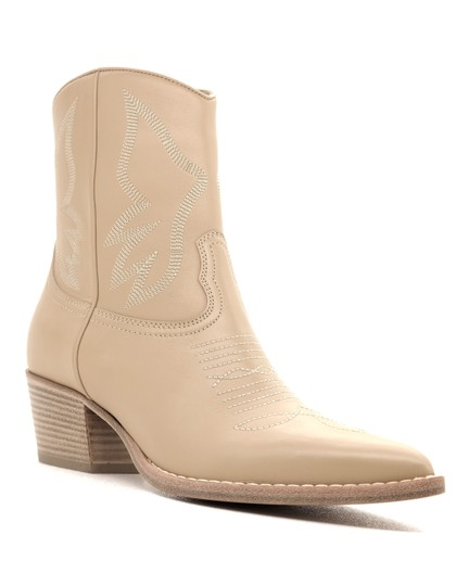 Valentino Ankle Beige Boots Image 1