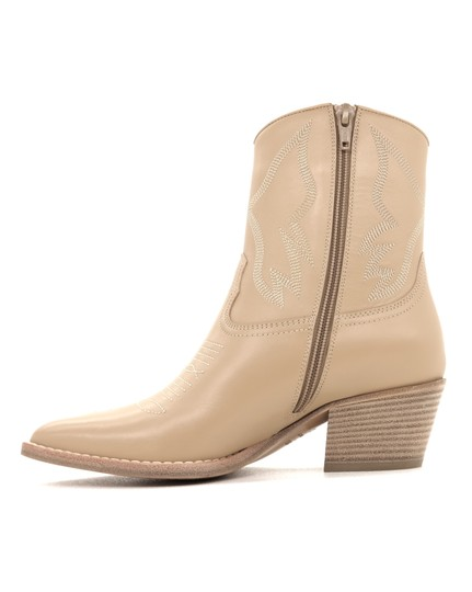 Valentino Ankle Beige Boots Image 2