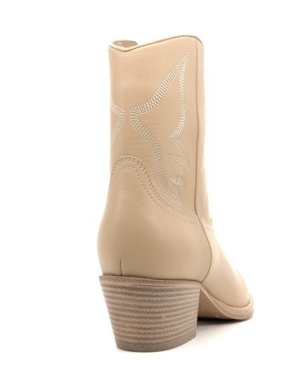Valentino Ankle Beige Boots Image 4