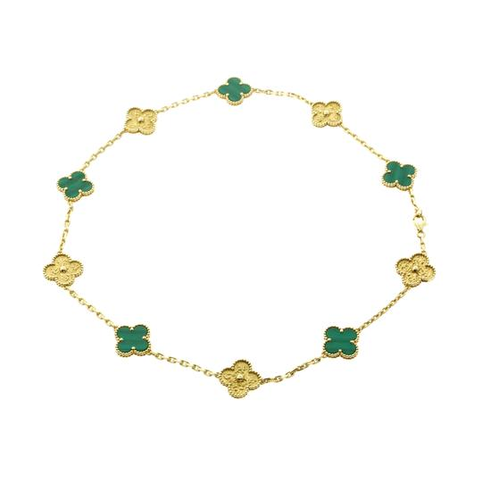 Preload https://img-static.tradesy.com/item/22680932/van-cleef-and-arpels-yellow-limited-edition-malachite-vintage-alhambra-necklace-0-0-540-540.jpg