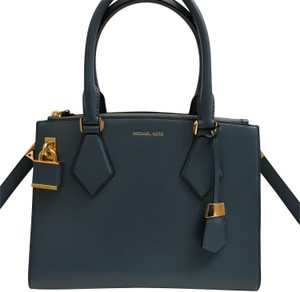 Michael Kors Collection Satchel in cornflower blue