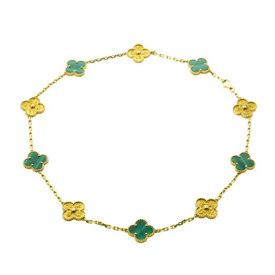 Preload https://img-static.tradesy.com/item/22681046/van-cleef-and-arpels-yellow-limited-edition-malachite-vintage-alhambra-necklace-0-0-540-540.jpg