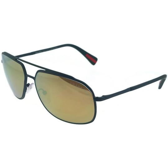 9d4093e9070 Prada Sport PS56RS-UFI5N2 Men s Green Frame Brown Lens Polarized Sunglasses  Image 0 ...