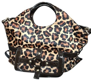 Michael Kors Calf-hair Patent Leather Tote in Leopard print