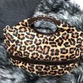Michael Kors Calf-hair Patent Leather Tote in Leopard print Image 1
