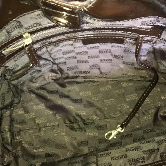 Michael Kors Calf-hair Patent Leather Tote in Leopard print Image 9