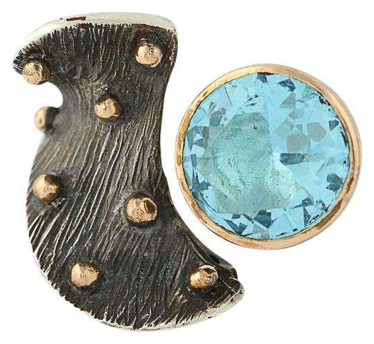 Preload https://img-static.tradesy.com/item/22681329/blue-new-handmade-topaz-sterling-silver-bronze-size-75-adju-ring-0-1-540-540.jpg