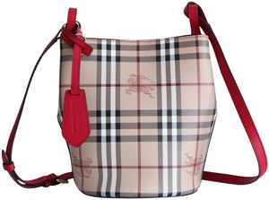 3232a4c6e254 Burberry Leather Bucket Crossbody Lorne Shoulder Bag