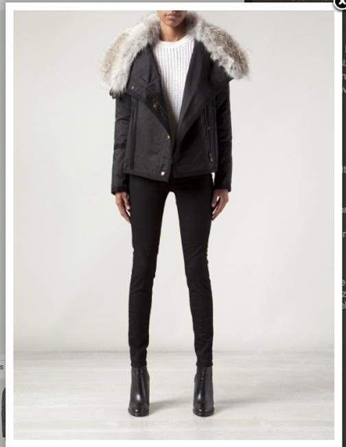 Army by Yves Salomon Fur Parka Made In France Coat Image 2