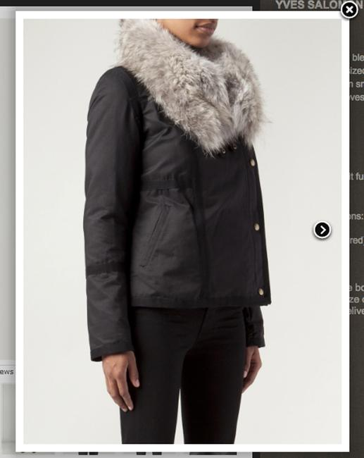 Army by Yves Salomon Fur Parka Made In France Coat Image 3