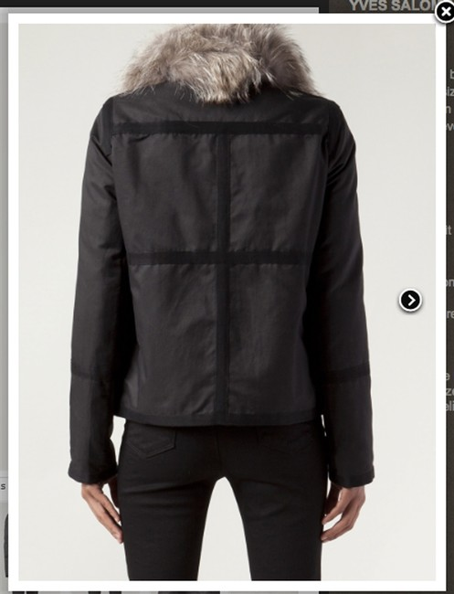 Army by Yves Salomon Fur Parka Made In France Coat Image 4