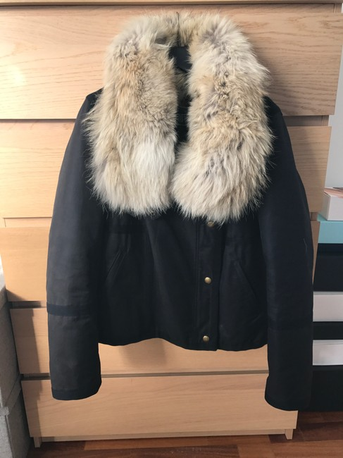 Army by Yves Salomon Fur Parka Made In France Coat Image 8