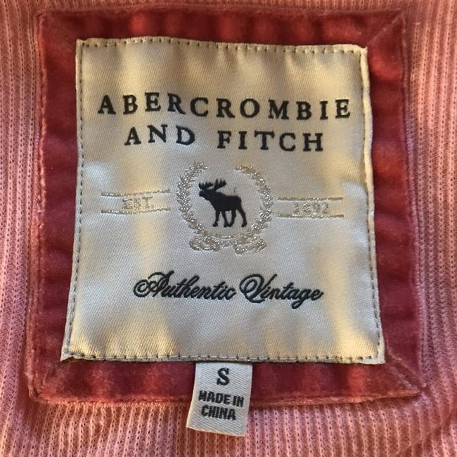 Abercrombie & Fitch 3/4 Sleeve V Neck Hood Top pink Image 2