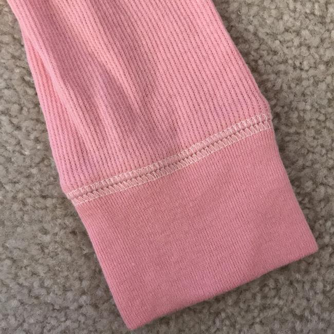 Abercrombie & Fitch 3/4 Sleeve V Neck Hood Top pink Image 7