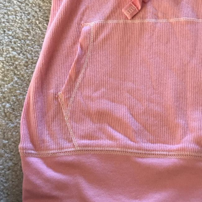 Abercrombie & Fitch 3/4 Sleeve V Neck Hood Top pink Image 8