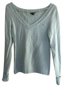 American Eagle Outfitters V Neck Layering Preppy Sweater