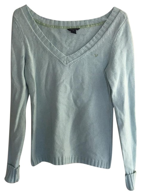 Preload https://img-static.tradesy.com/item/22681822/american-eagle-outfitters-v-neck-blue-sweater-0-1-650-650.jpg