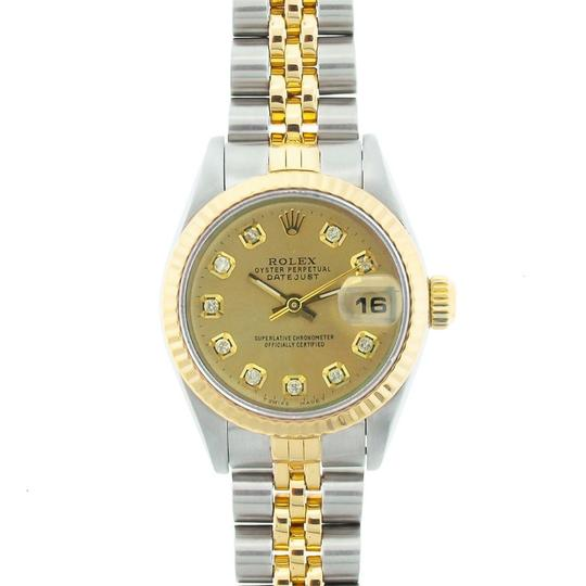 ROLEX 26MM Datejust 2-tone with Box & Appraisal Watch Image 1