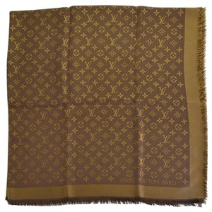 Louis Vuitton Louis Vuitton Brown Shine Shawl