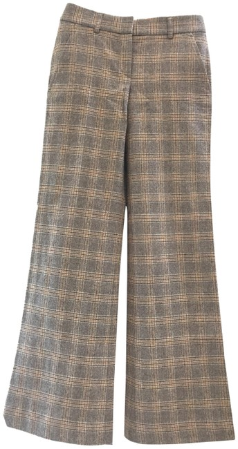 Item - Plaid Good Wool Trousers In Pattern Pants Size 0 (XS, 25)